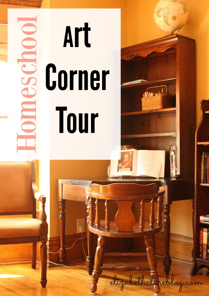 How we use Learning Corners:  Art Corner tour