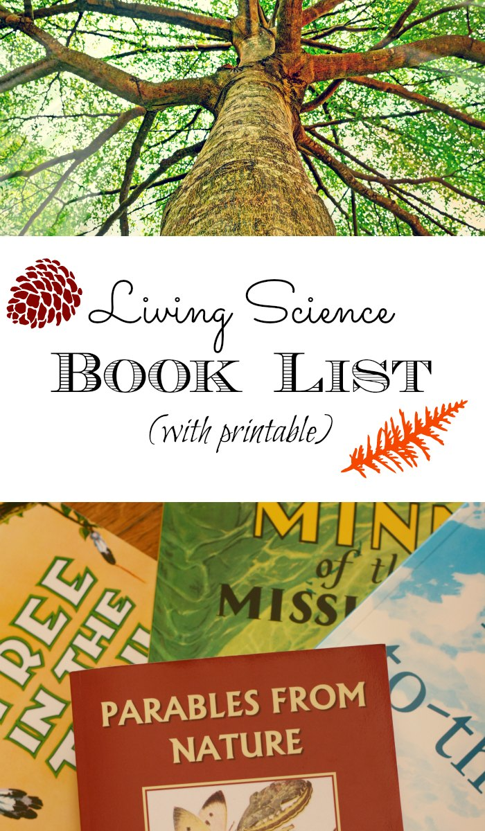 A great compilation of living science books.  A Charlotte mason style booklist.