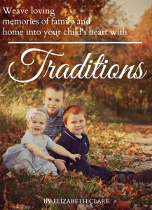 Learn all about creating memorable moments with your chidren with this free ebook! Step-by-step help to creating family traditions!