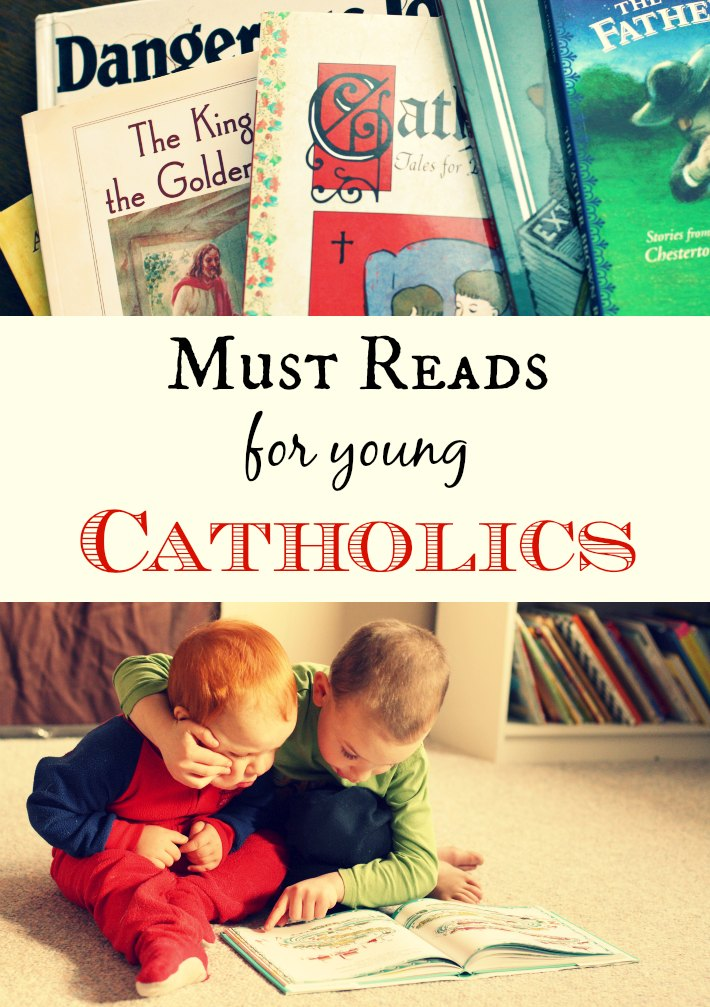 The COMPLETE booklist for young Catholics. Great reads for all children.