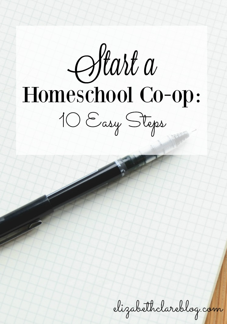 Start a Homeschool Co-op:  10 Easy Steps