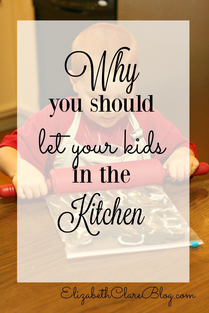 Why You Should Let Your Kids in the Kitchen