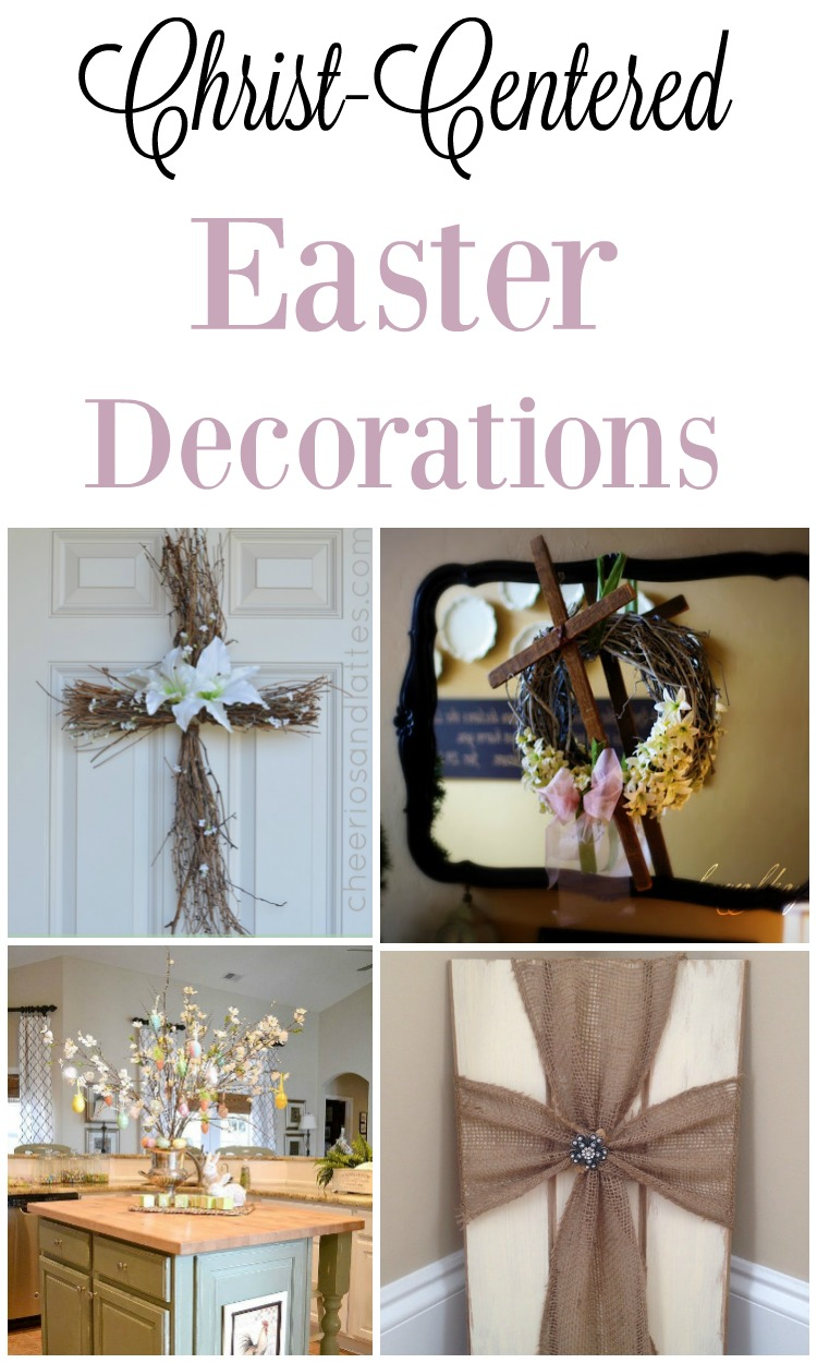 ways to decorate as a christian this spring in your home - Christian Easter Decorating Ideas