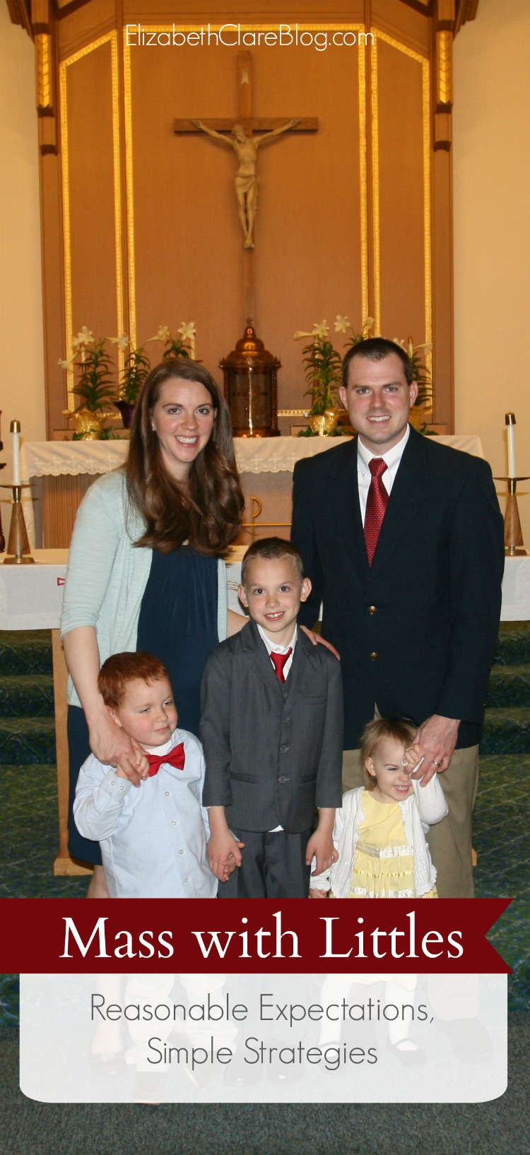 Manners and expectations, strategies, tips, and help for surviving during Mass with your kids