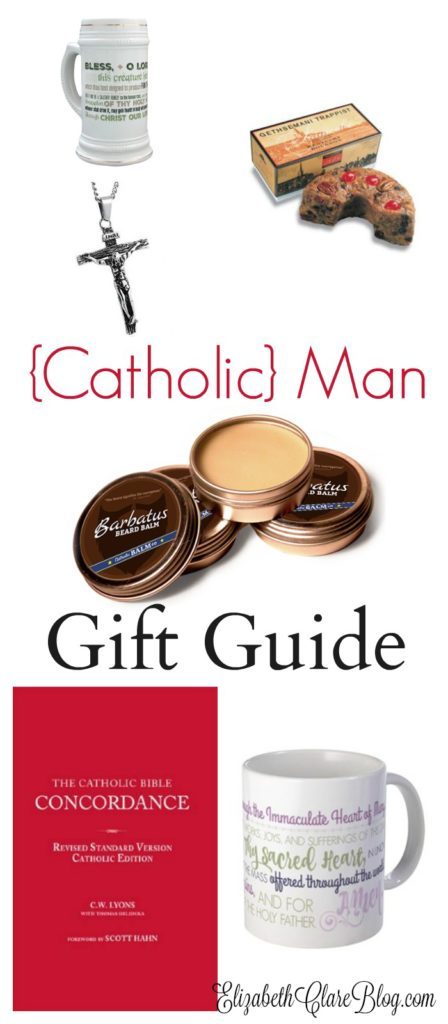 Looking for the perfect gift for your Catholic man for Father's Day, birthdyas, anniversary, or Christmas? Here is a GREAT list!