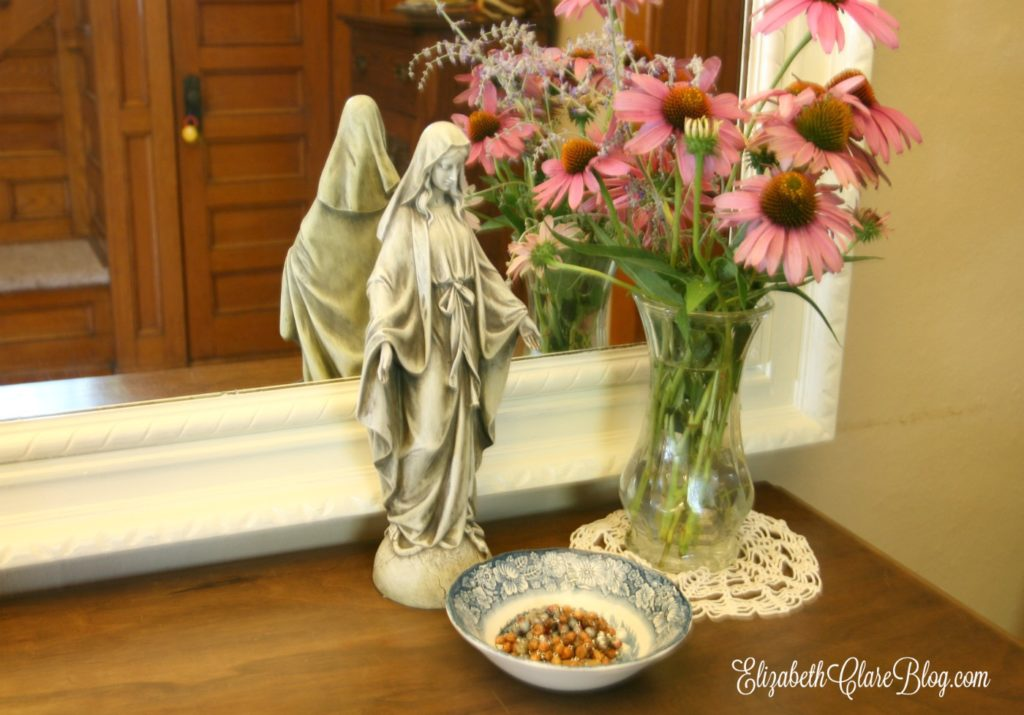 Ideas for living liturgically the month of August in the Catholic home and domestic church