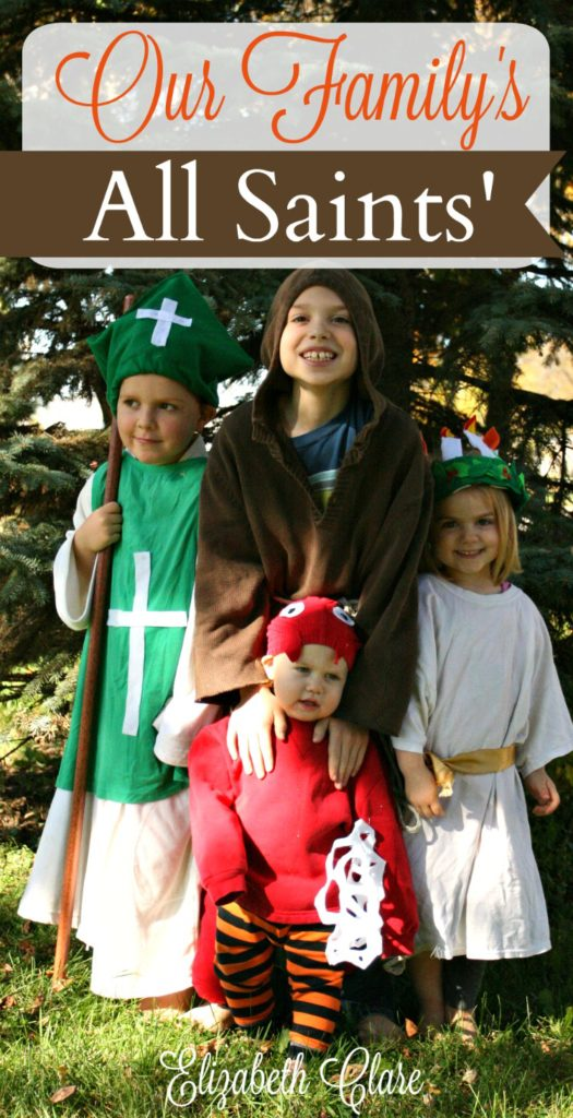 Costumes, party plans, doughnuts or soul cakes, and service Ways to celebrate this liturgical feast in the Catholic home with your family and kids