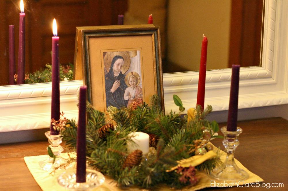 December Feast Table