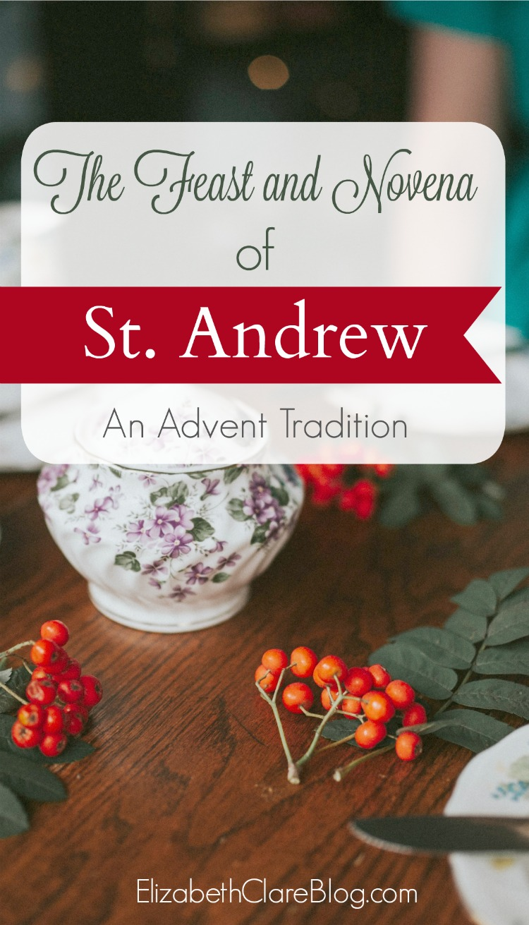St. Andrew: A fisherman, a feast, an Advent novena - elizabeth clare
