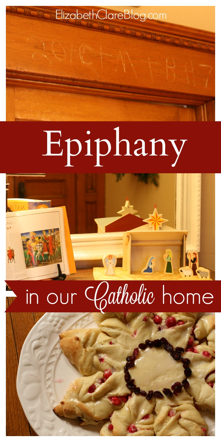 Simple ways to celebrate the last day of the liturgical Christmas season in the Catholic Church with food, fun, and activities, including a home blessing.