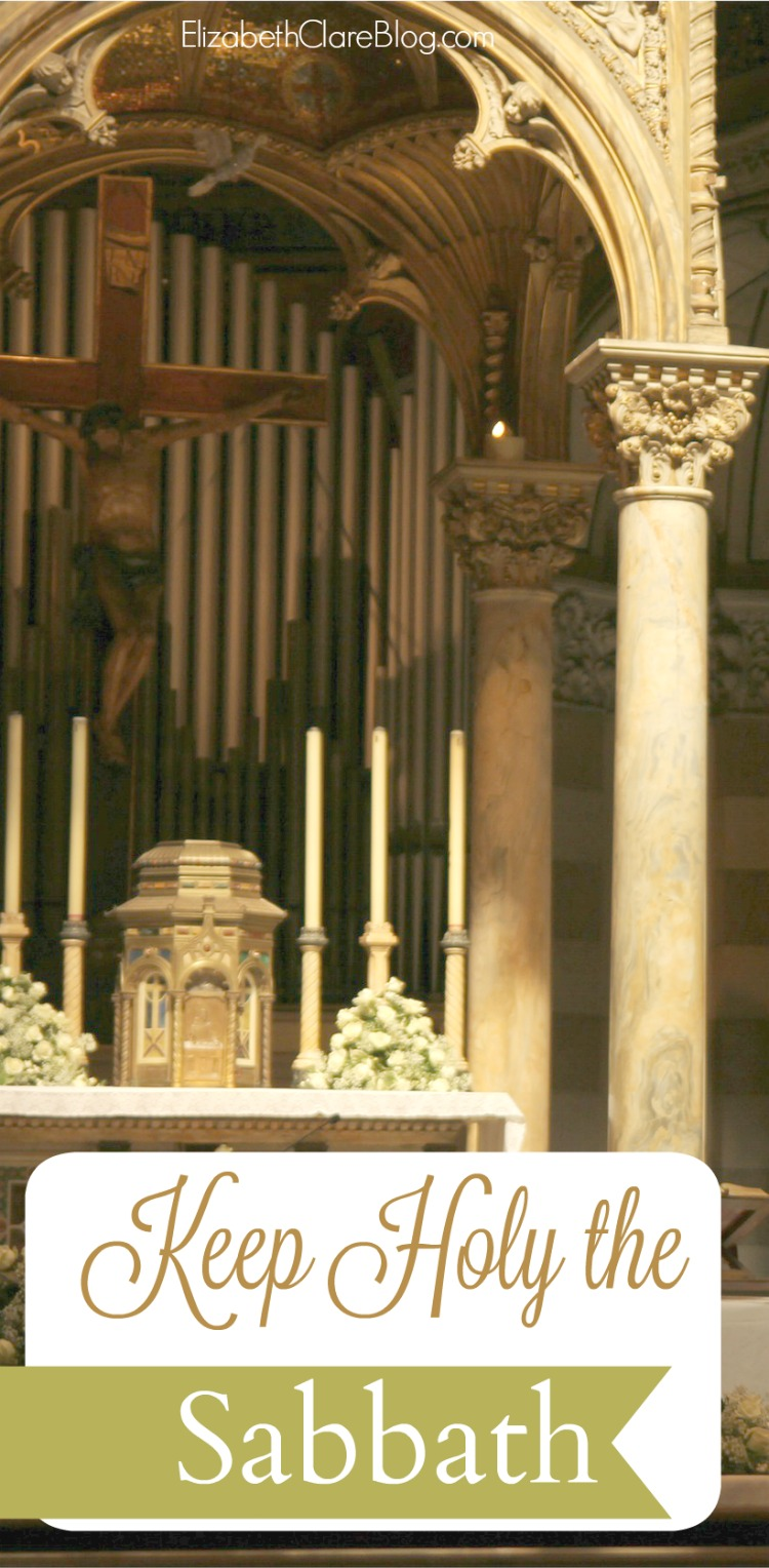 What does the Sabbath mean? How can we keep Sunday special as Catholics in our family?