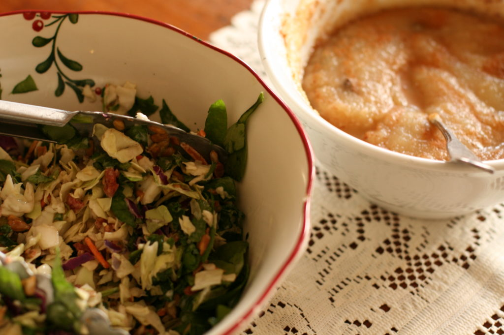 seder meal charoseth and bitter herb salad lent holy week easter