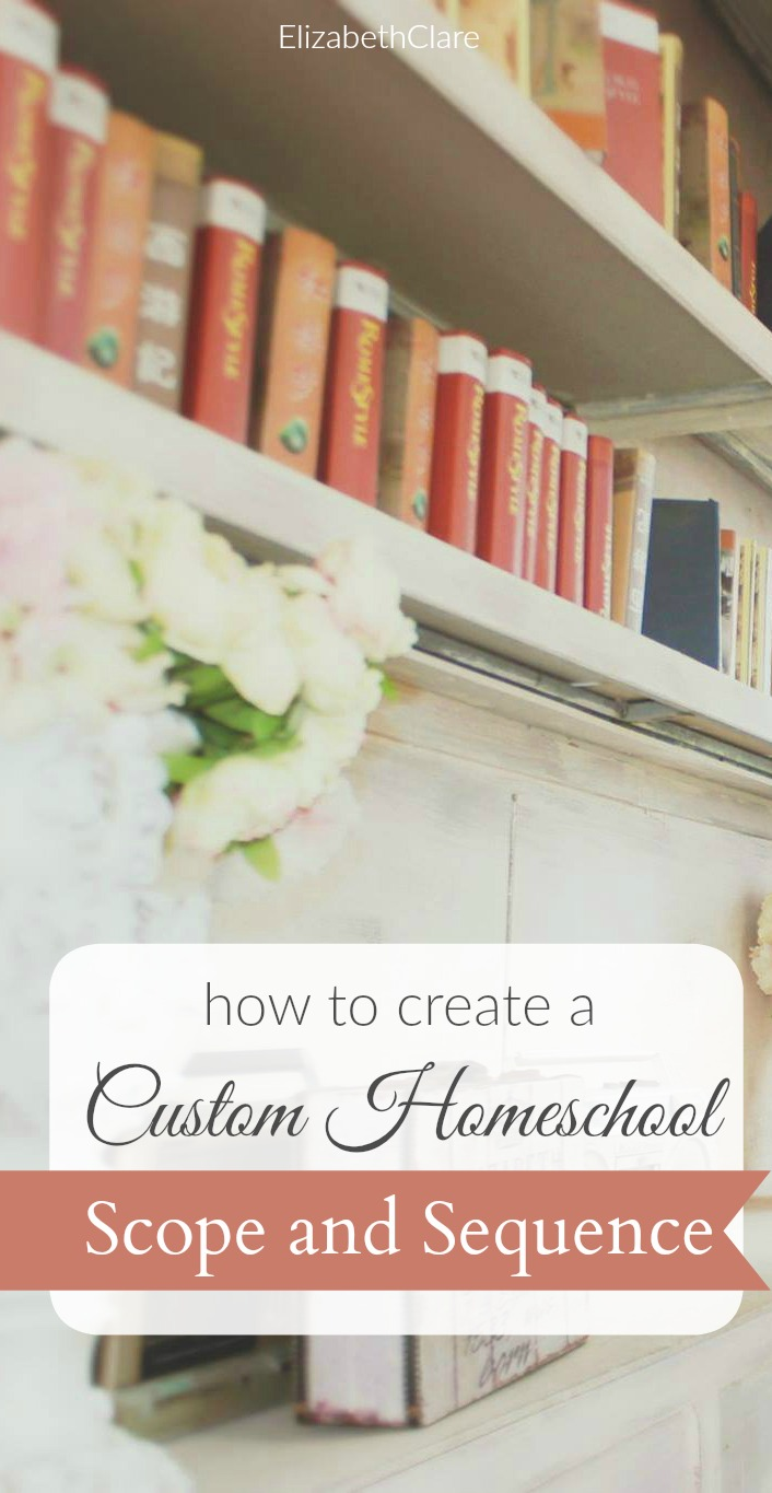 Step by step, how to make a custom homeschool scope and sequence with your family's course of study and curriculum. Use Excel or OpenOffice and create a custom boxed curriculum.