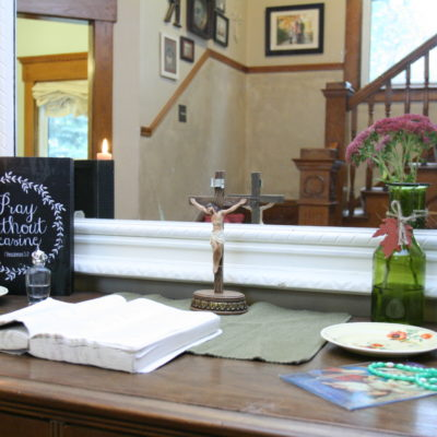 Living October in the Catholic Home