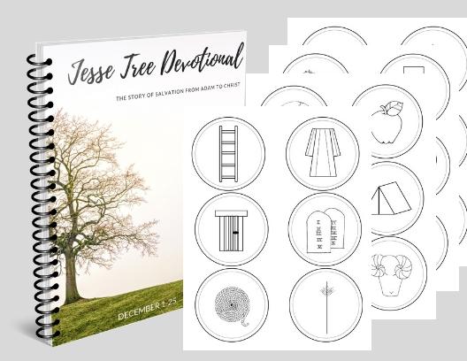 graphic regarding Printable Devotions identify Jesse Tree Package: Printable Jesse Tree Ornaments and Devotional
