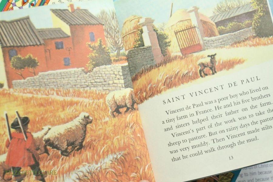 St. Vincent de Paul Feast Day Book List
