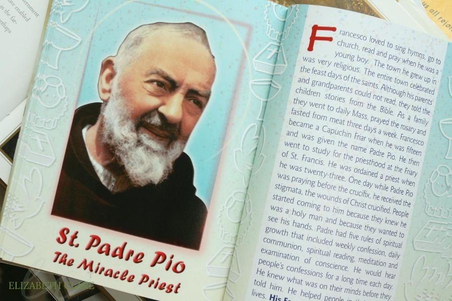 St.Padre Pio Feast Day Book List